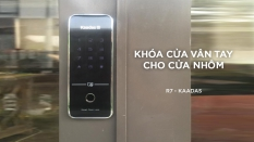 Khóa vân tay lắp cho cửa nhôm